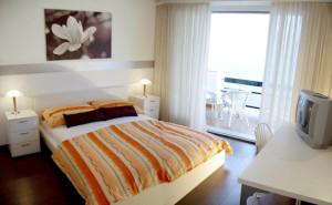 Zimmer im Hotel Garni Battello