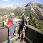 Dachterrasse der Arosa Mountain Lodge