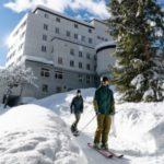 Ski-fahren bei der Arosa Mountain Lodge