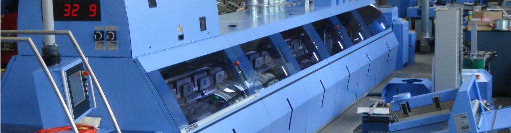 Blechtech-Maschine