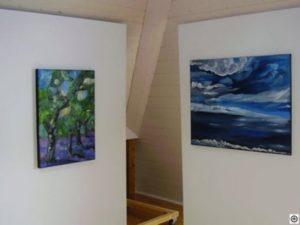 Ausstellung von Mara Algethi